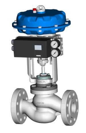 Regulacijski ventili pneumatski pogon
