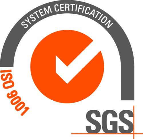 SGS Certifikat ISO 9001