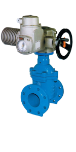 Electric powered control valve