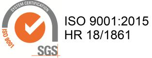 Novamat ventili certifikat ISO 9001:2015